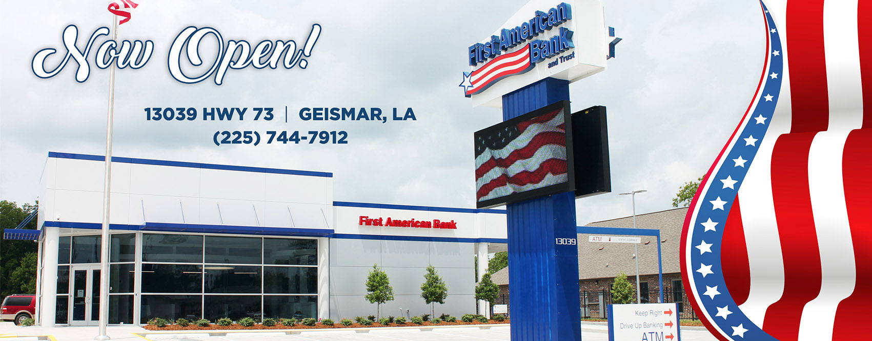 Welcome To First American Bank And Trust A Banking Tradition Since Of America Wiring Number New Dutchtown Office